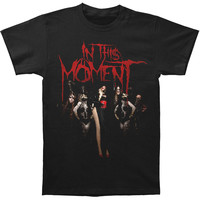 In This Moment Men's  Group Slim Fit T-shirt Black