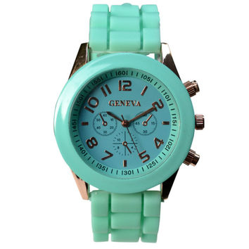 Mint Pastel Watch