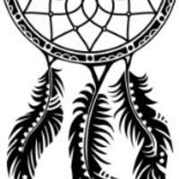 "Dreamcatcher Native American Car Bumper Sticker Decal 3""x 6"""