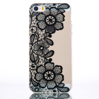 Unique Floral iPhone 5se 5s 6 6s Plus Case Cover + Free Gift Box