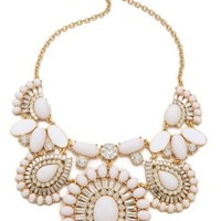 Capri Garden Statement Necklace