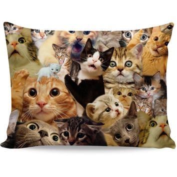 ROPC Surprised Cats Pillow Case