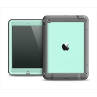 The Subtle Solid Green Apple iPad Mini LifeProof Fre Case Skin Set