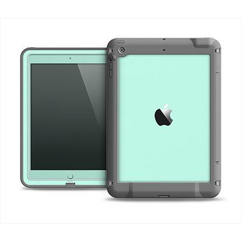 The Subtle Solid Green Apple iPad Air LifeProof Fre Case Skin Set