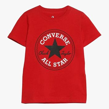 Converse Children Girls Boys Casual Shirt Top Tee
