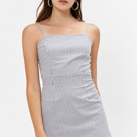 Kendall and Kylie Tie Back Shift Dress at PacSun.com - white/navy   PacSun