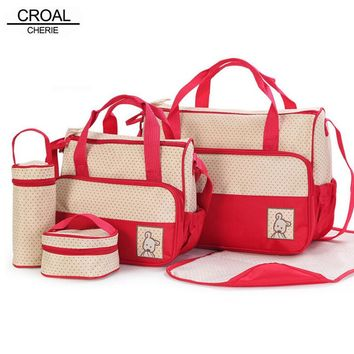 5pcs Baby Diaper Bag