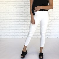 Rigid Motto Pants In Ivory