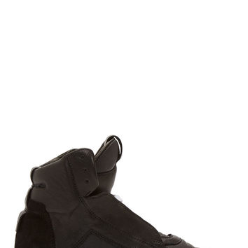 Ca By Cinzia Araia Black Leather High-top Sneakers