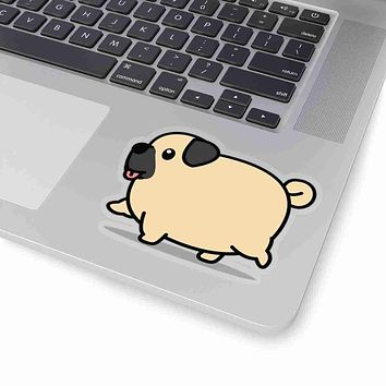 PUG Decal, PUG Sticker, PUG Decal, PUG Sticker, Vinyl Decal, Car Decal, Yeti Decal, Cup Decal, Window Decal, Sticker Decal, Animal Sitcker, Dog Sticker