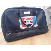 70s Unisex Vintage Pepsi Retro Sports Bag Holdall Excellent Condition Rare Piece