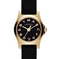 Women's MARC BY MARC JACOBS 'Henry Dinky' Leather Strap Watch, 20mm