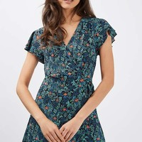Ditsy Floral Wrap Dress - New In Dresses - New In