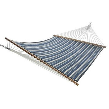 Longitude Navy Quilted Hammock by Castaway