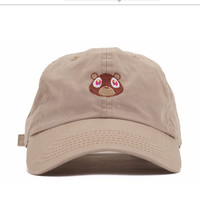 RARE Kanye West Ye Bear Dad Hat EXCLUSIVE Release Limited Unisex Tan Limited cap I Feel Like Pablo Yeezy drake caps