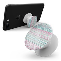Doodle Aztec Pattern - Skin Kit for Pop Sockets and other Smartphone Extendable Grips & Stands