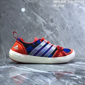 DCCK2 A984 Adidas Terrex boat Retro Camouflage breathable Wire Intervention Water Shoes Blue Red