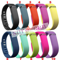 New Fitbit Flex strap With Clasp Replacement TPU Wrist Strap Wireless Activity Bracelet Wristband With Metal Clasp No Tracker 13 Colors