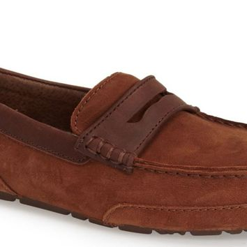 New in Box- UGG Australia Tucker UGGpure Wool Chestnut Suede Moccasin