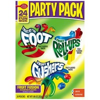 Betty Crocker Party Pack Fruit Flavored Snacks, 24 count, 9.96 oz - Walmart.com