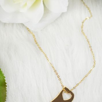 state love necklace - alabama