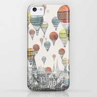 Voyages over Edinburgh iPhone & iPod Case by David Fleck