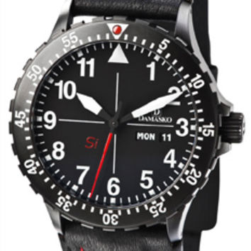 Damasko DK10 Black Automatic Watch
