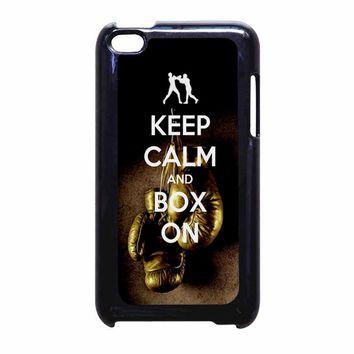 Keep Calm WWE Boxing Gloves iPod Touch 4 Case