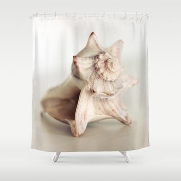 Seashell Still Life Shower Curtain by Legends Of Darkness Photography