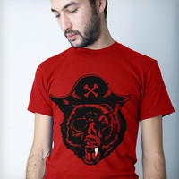 Men's Black Bear(d) T-Shirt