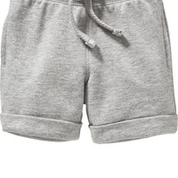 Old Navy Cuffed Terry Fleece Shorts For Baby