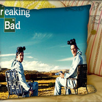 Breaking Bad Bryan Cranston TV Serie - Pillow Cover and Pillow Case.