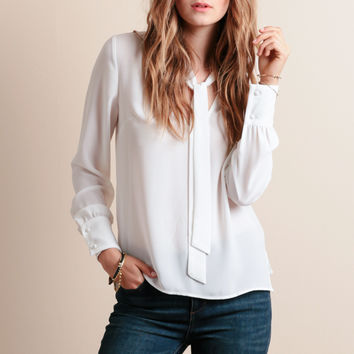 All Tied Up Blouse