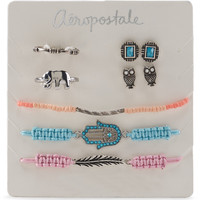 Aeropostale  Hamsa Assorted Jewelry 7-Pack