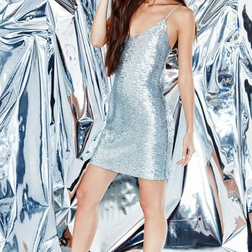 Kendall and Kylie Sequined Strappy Slip Dress at PacSun.com
