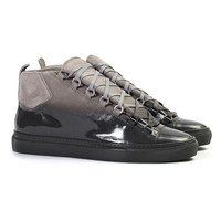 Balenciaga Black Fade Arena High Sneakers