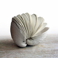 Offering No. 67 - Handstitched Clamshell Book Sculpture