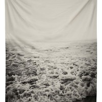 DENY Designs 'Leah Flores - Infinity' Tapestry - Grey
