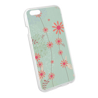 Spring Easter Flower Daisy Pattern Snap On Hard Protective Case for Apple iPhone 6