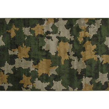 Fun Rugs Supreme Collection Camouflage Area Rug