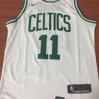 Boston Celtics #11 Kyrie Irving White Swingman Jersey