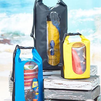 Waterproof Dry Bags Beach Boating Camping Adjustable Strap Keeps Devices Safe