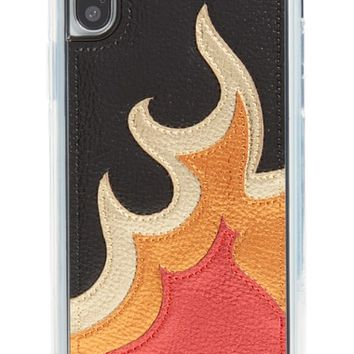Zero Gravity Burn iPhone X Case | Nordstrom