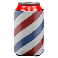 Barber Pole Can Cooler