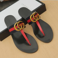 shosouvenir Gucci GG Fashion casual sandals