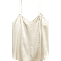 H&M Silk V-neck Camisole Top $59.99