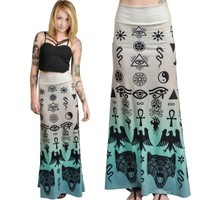 Occult Hella Maxi Skirt