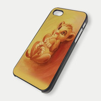 Baby lion king simba iPhone Case And Samsung Galaxy Case