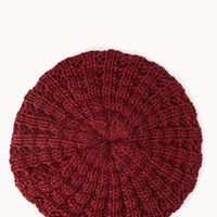 Chic Open-Knit Beret | FOREVER 21 - 2000093108