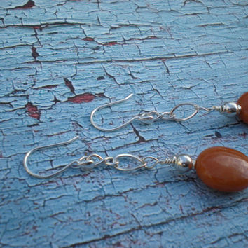 Groovin' earrings, bohemian summer collection, unique jewelry by Grey Girl Designs on Etsy